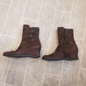 Arche Brown Leather Boots